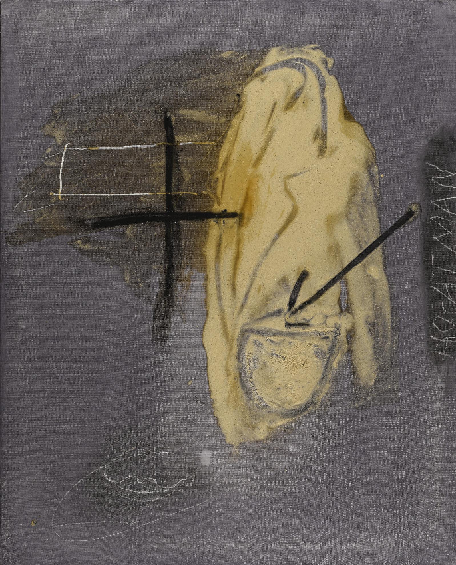 Antoni Tapies-No-Atman-2001