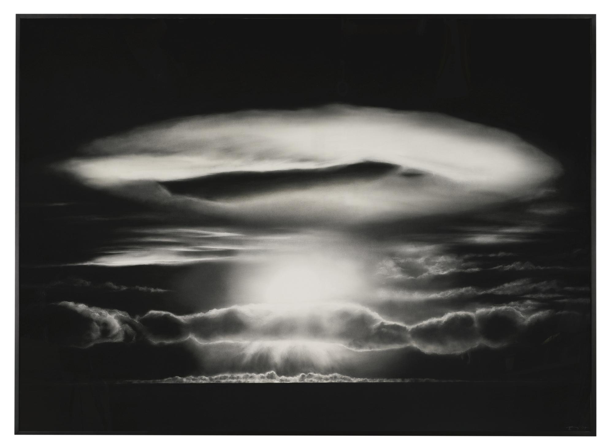 Robert Longo-Untitled (Halo)-2007