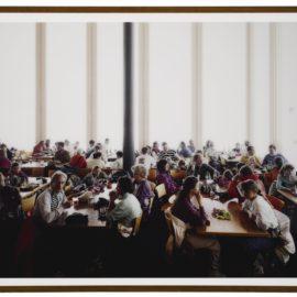 Andreas Gursky-St. Moritz, Restaurant-1991