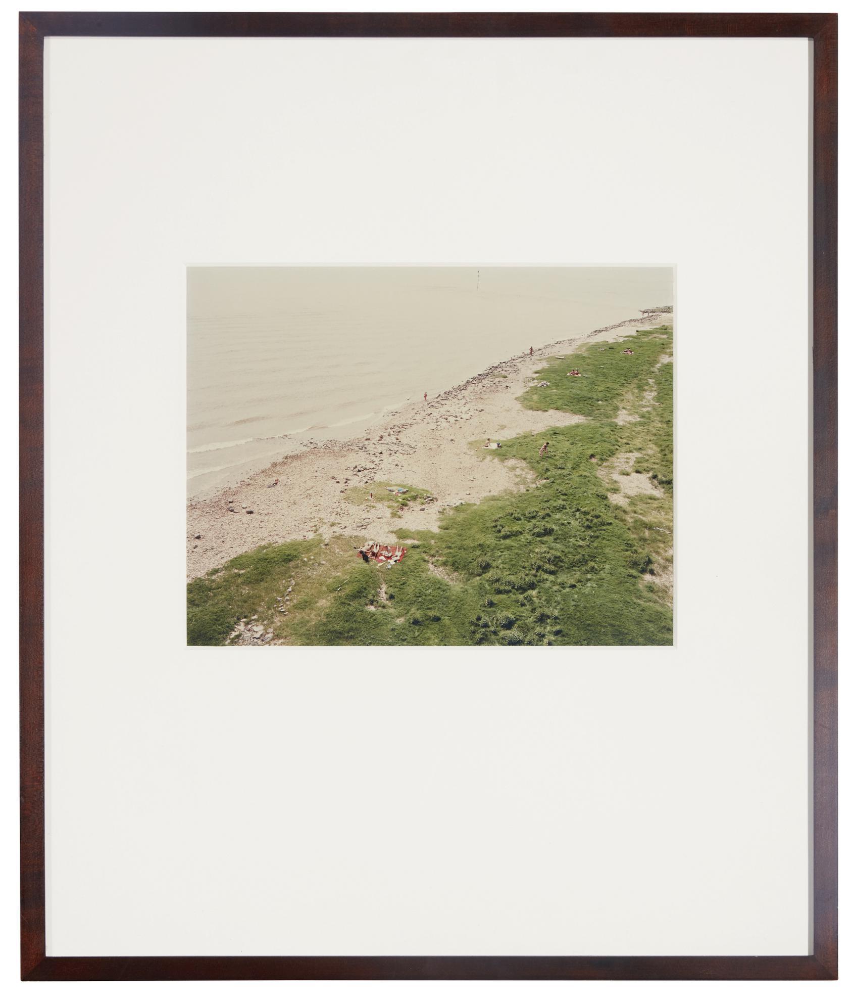 Andreas Gursky-Dusseldorf, Rhein-1985