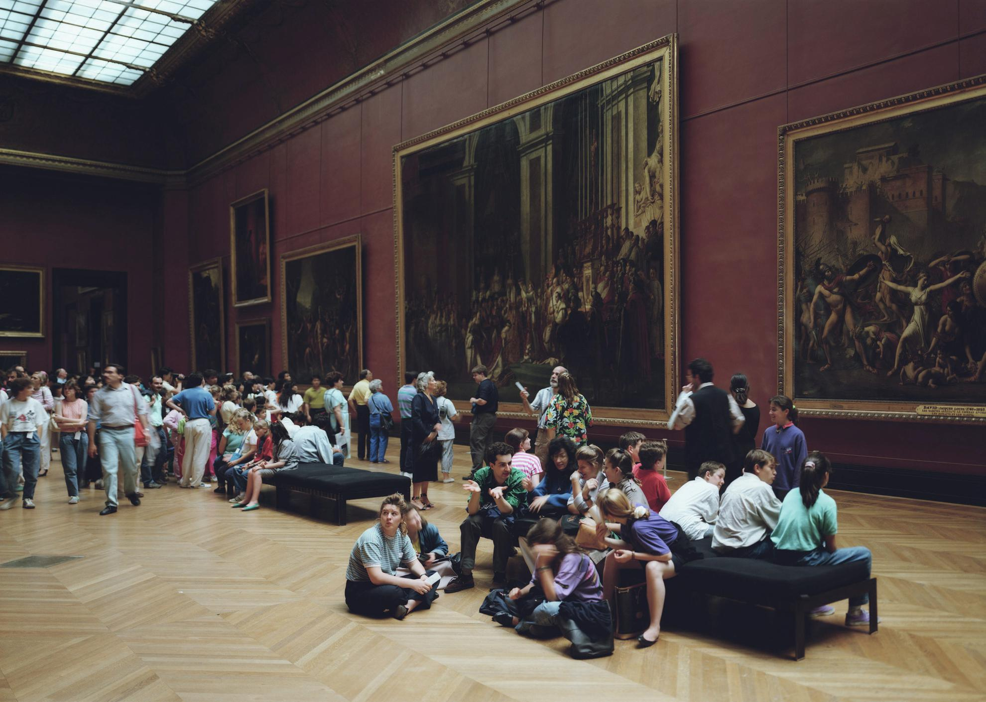 Thomas Struth-Louvre 1, Paris-1989