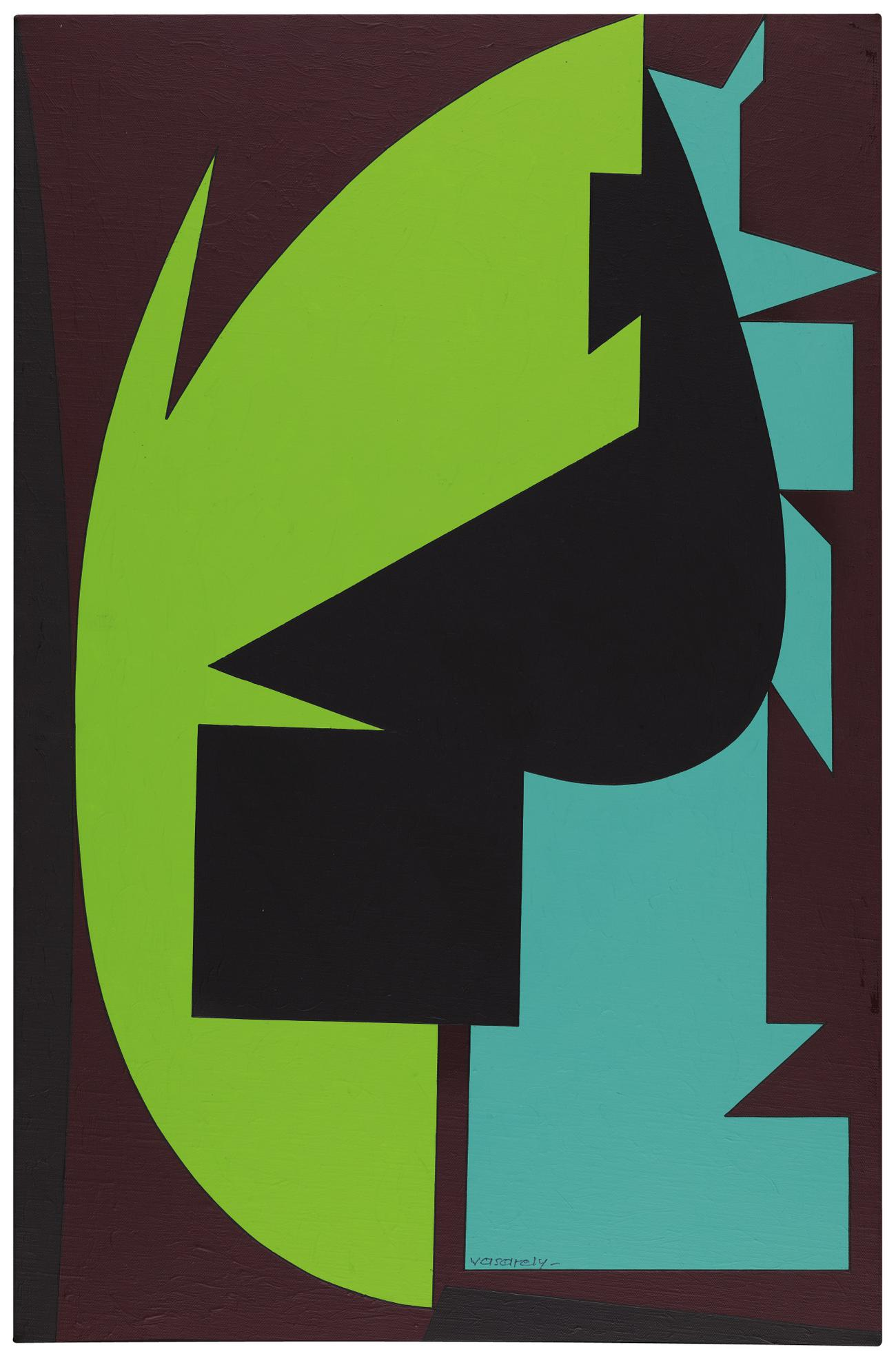 Victor Vasarely-Ypoly-1989
