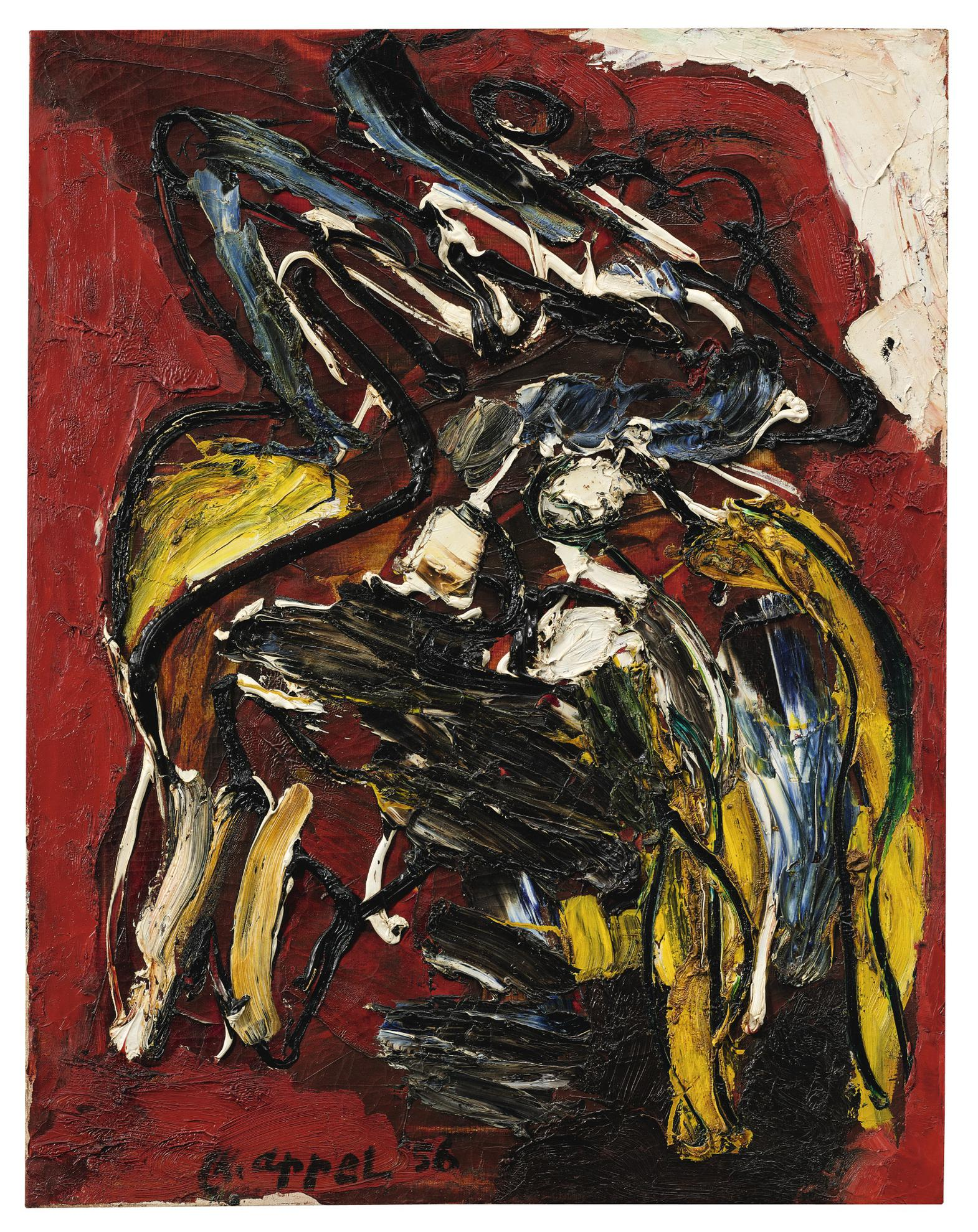 Karel Appel-Untitled-1956