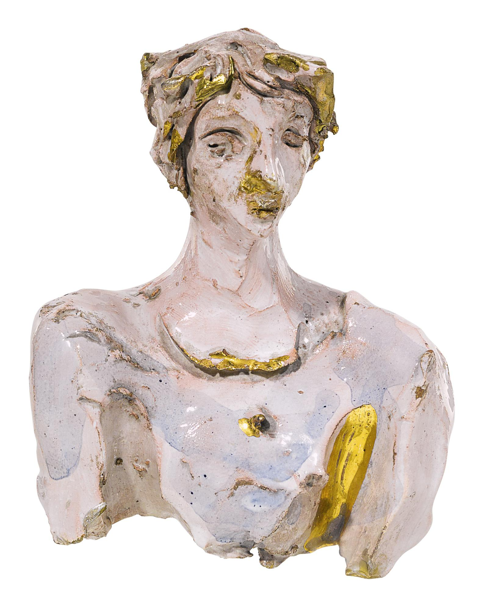 Lucio Fontana-Testina-1955