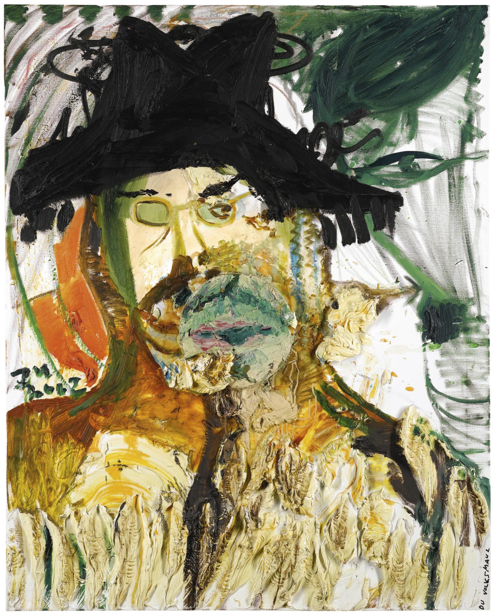 Jonathan Meese-Portrait Volki 1-2002
