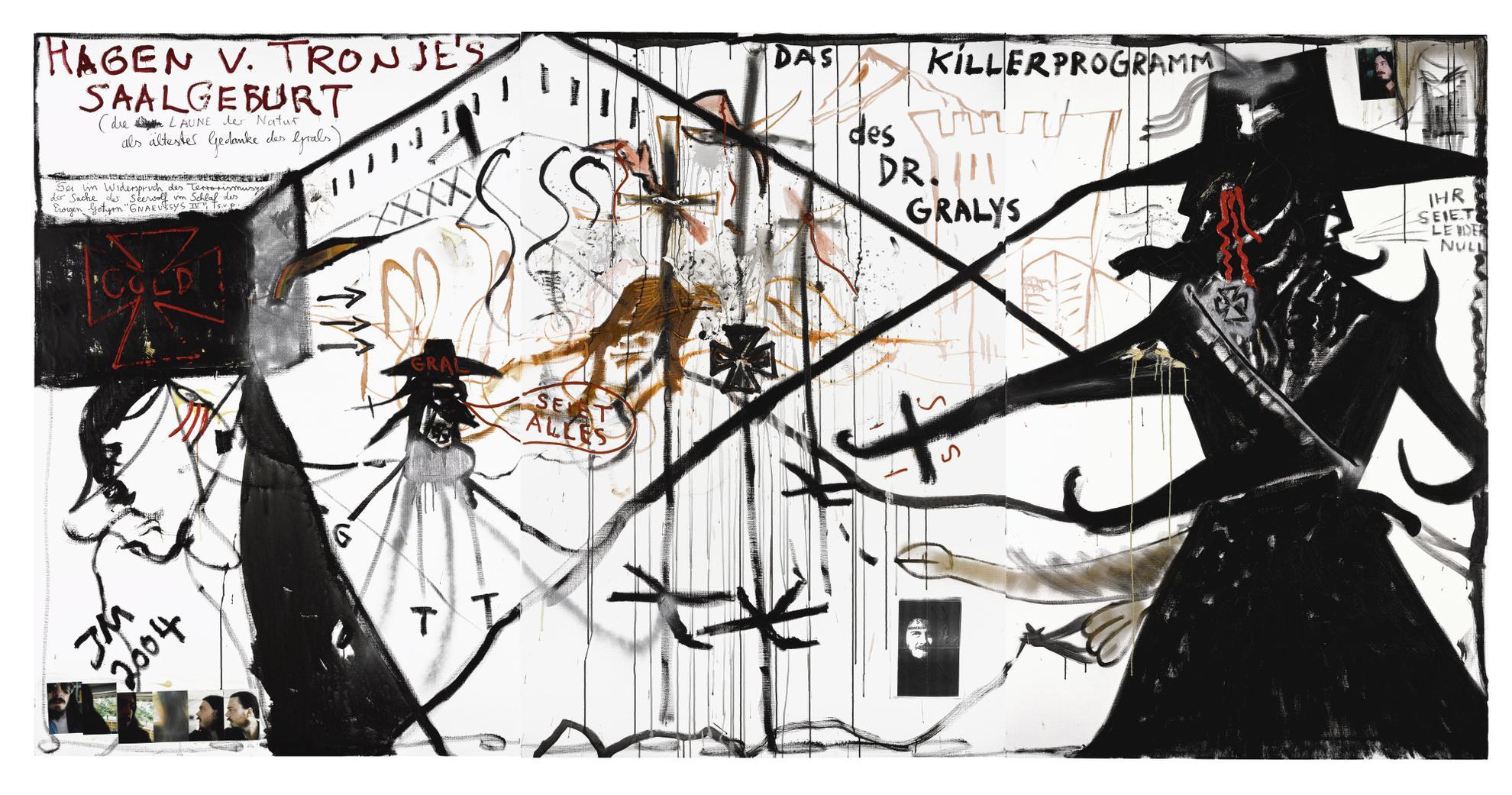 Jonathan Meese-Garten Eden II-2004