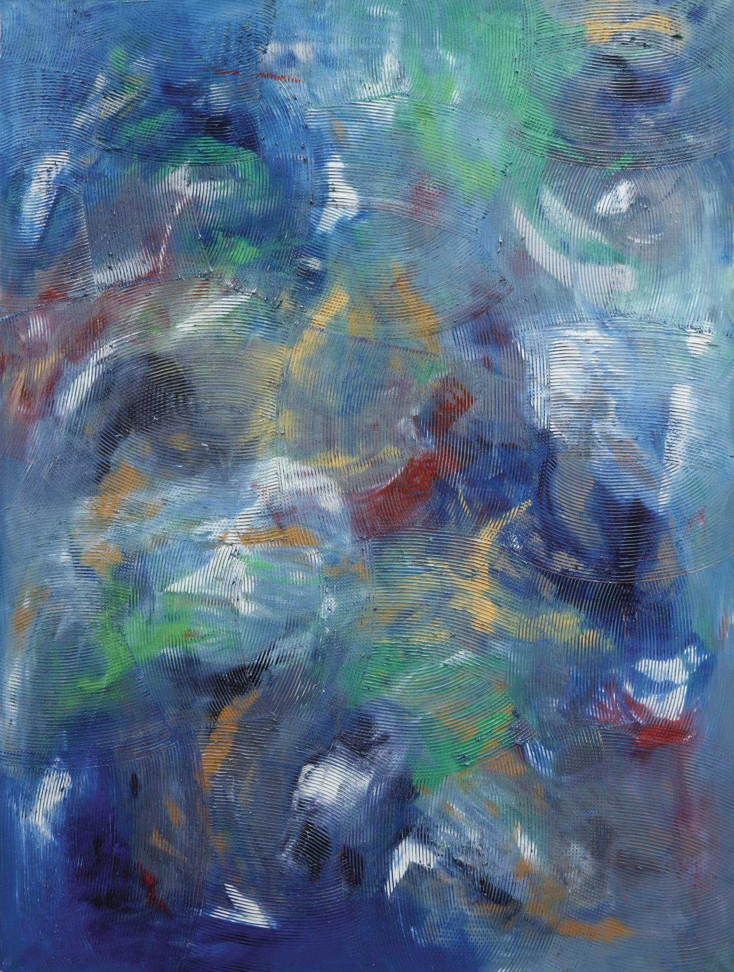 Dan Rees-Untitled (Artex Painting)-2012