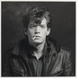 Robert Mapplethorpe-Self-Portrait-1980