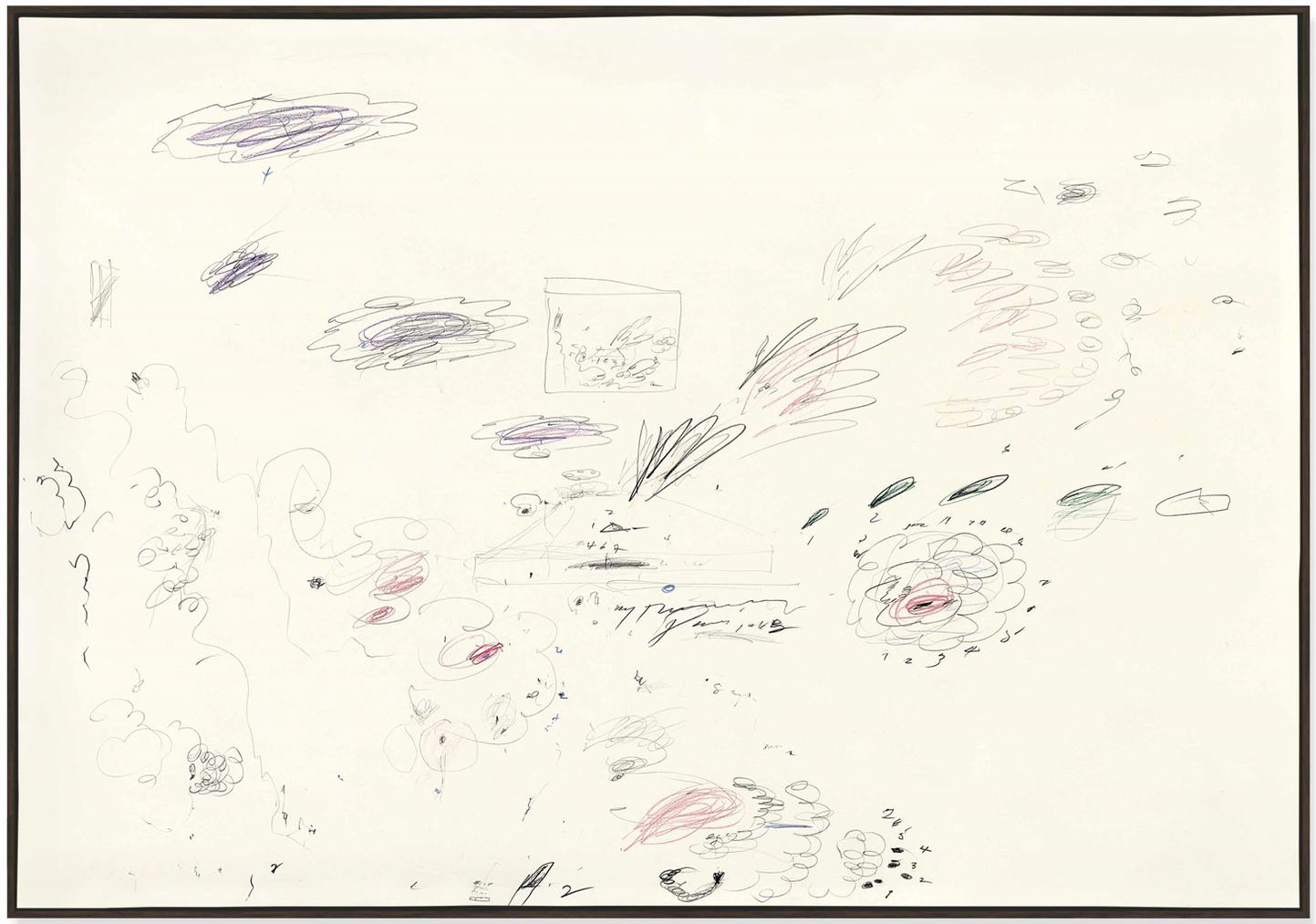 Cy Twombly-Untitled-1963