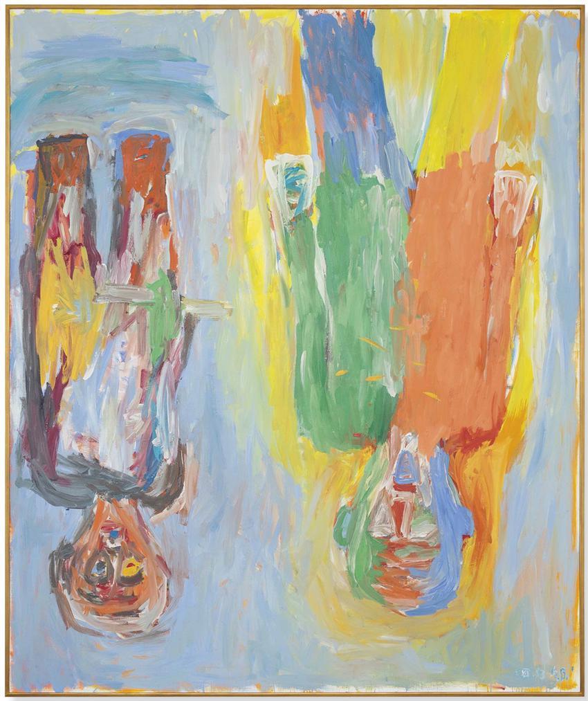 Georg Baselitz-Die Geisselung (The Flagellation)-1983