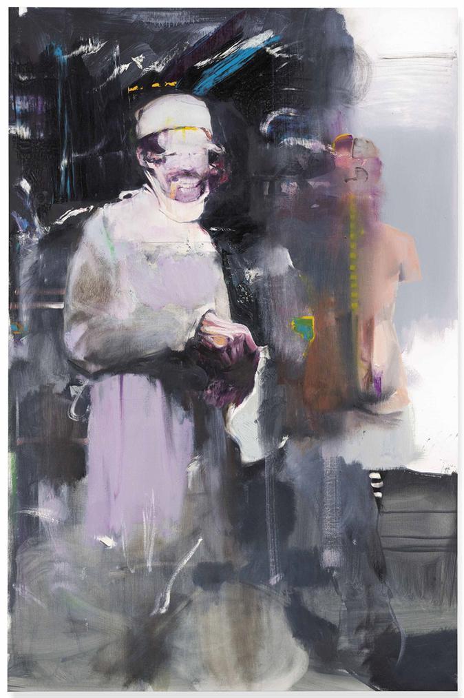 Adrian Ghenie-Study For 'The Kaiser Wilhelm Institute'-2011