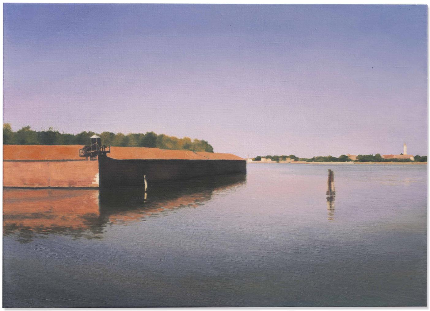 Gerhard Richter-Venedig (Insel) (Venice (Island))-1985