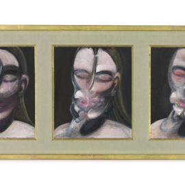 Francis Bacon-Three Studies For A Portrait-1976