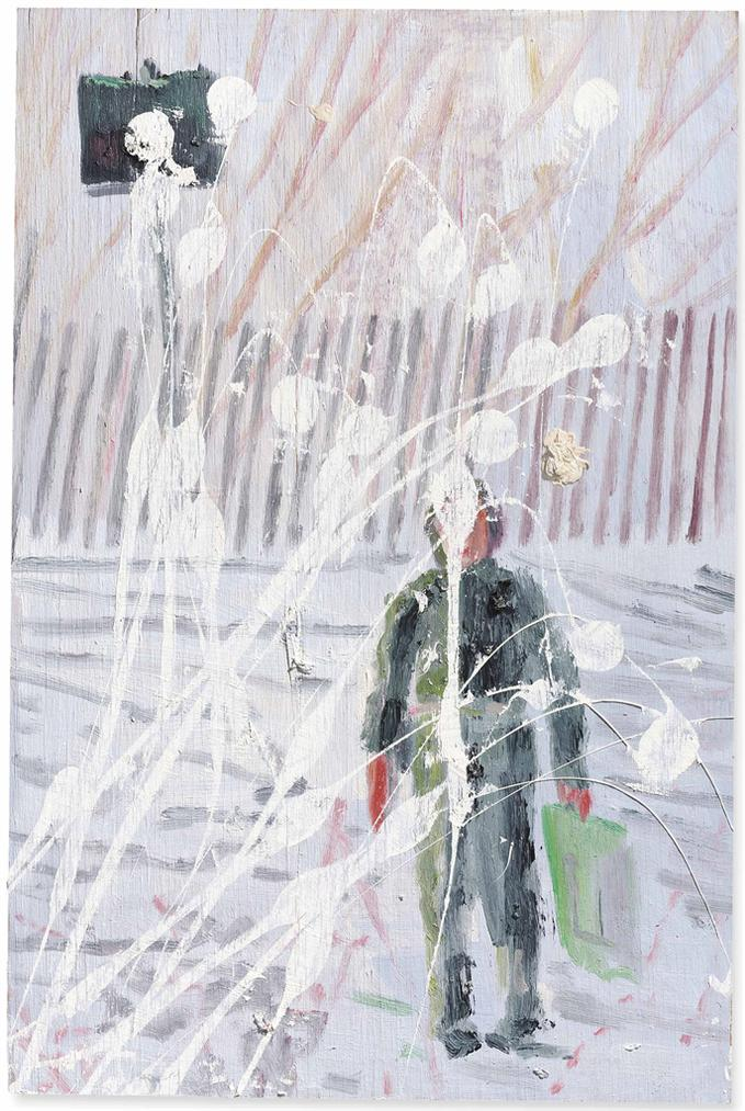 Peter Doig-Snowballed Boy-1995