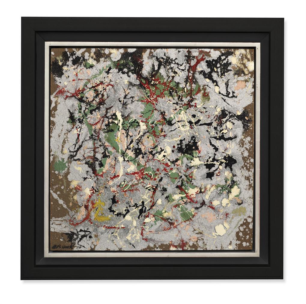 Jackson Pollock-Number 21, 1950-1950
