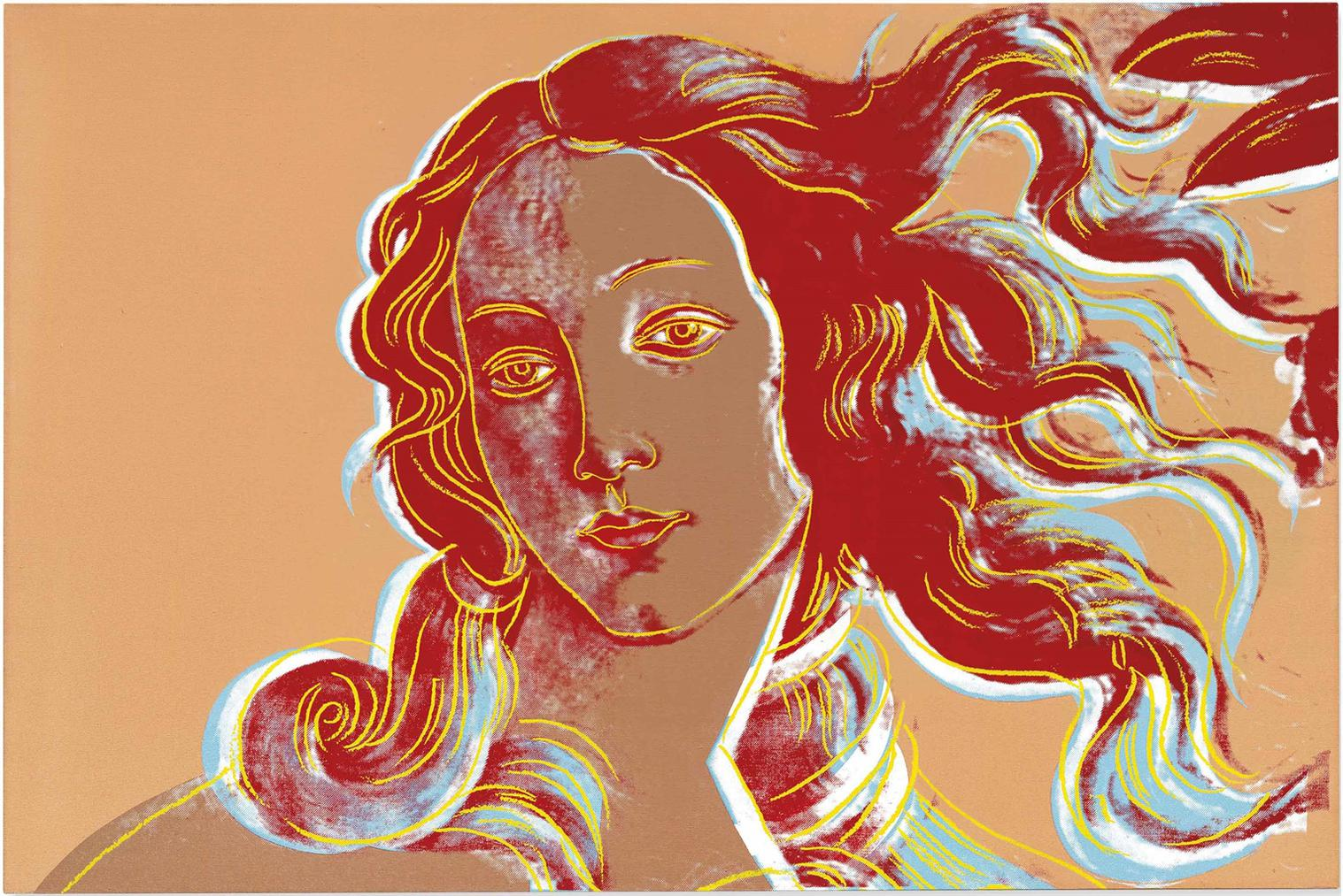 Andy Warhol-Birth Of Venus (After Botticelli)-1984