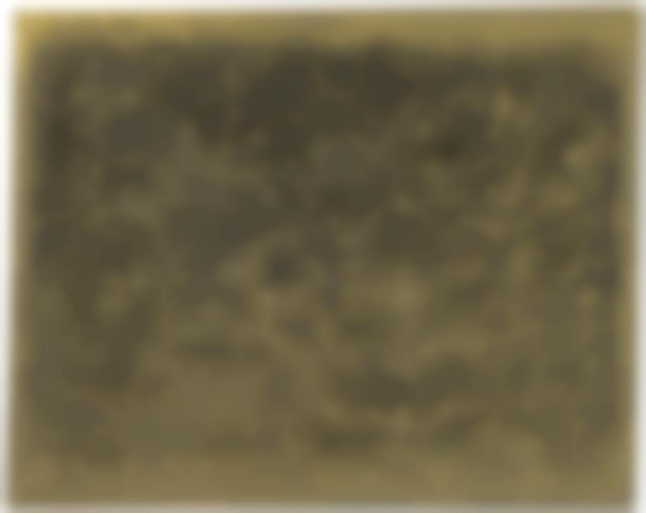 Otto Piene-Bronze And Gold Iv-1959