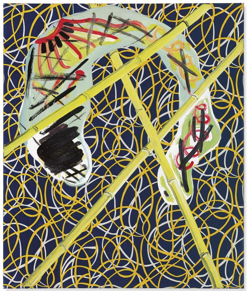 Sigmar Polke-Bambusbild (Bamboo Picture)-1967