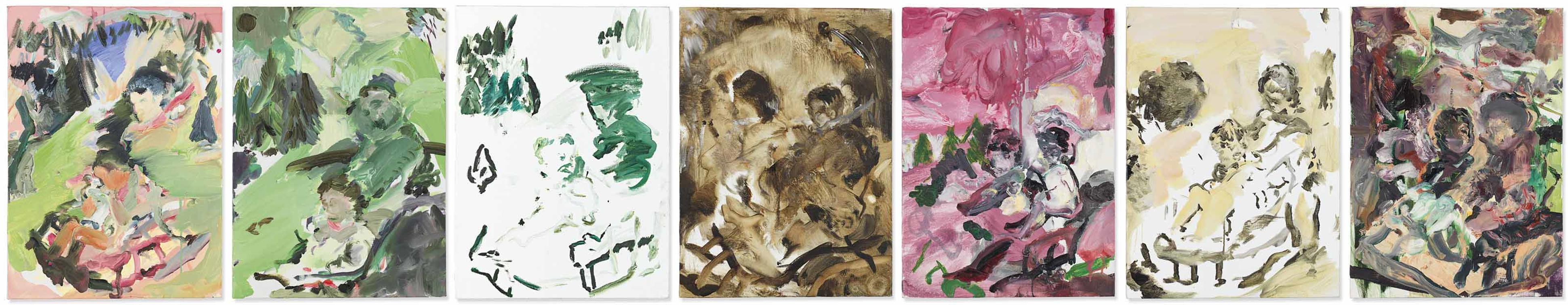 Cecily Brown-Les Sept Jours De La Semaine (The Seven Days Of The Week)-2007