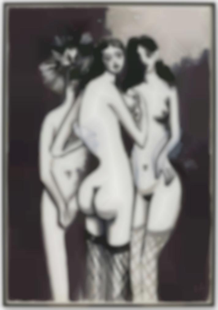 George Condo-Three Nudes-2013