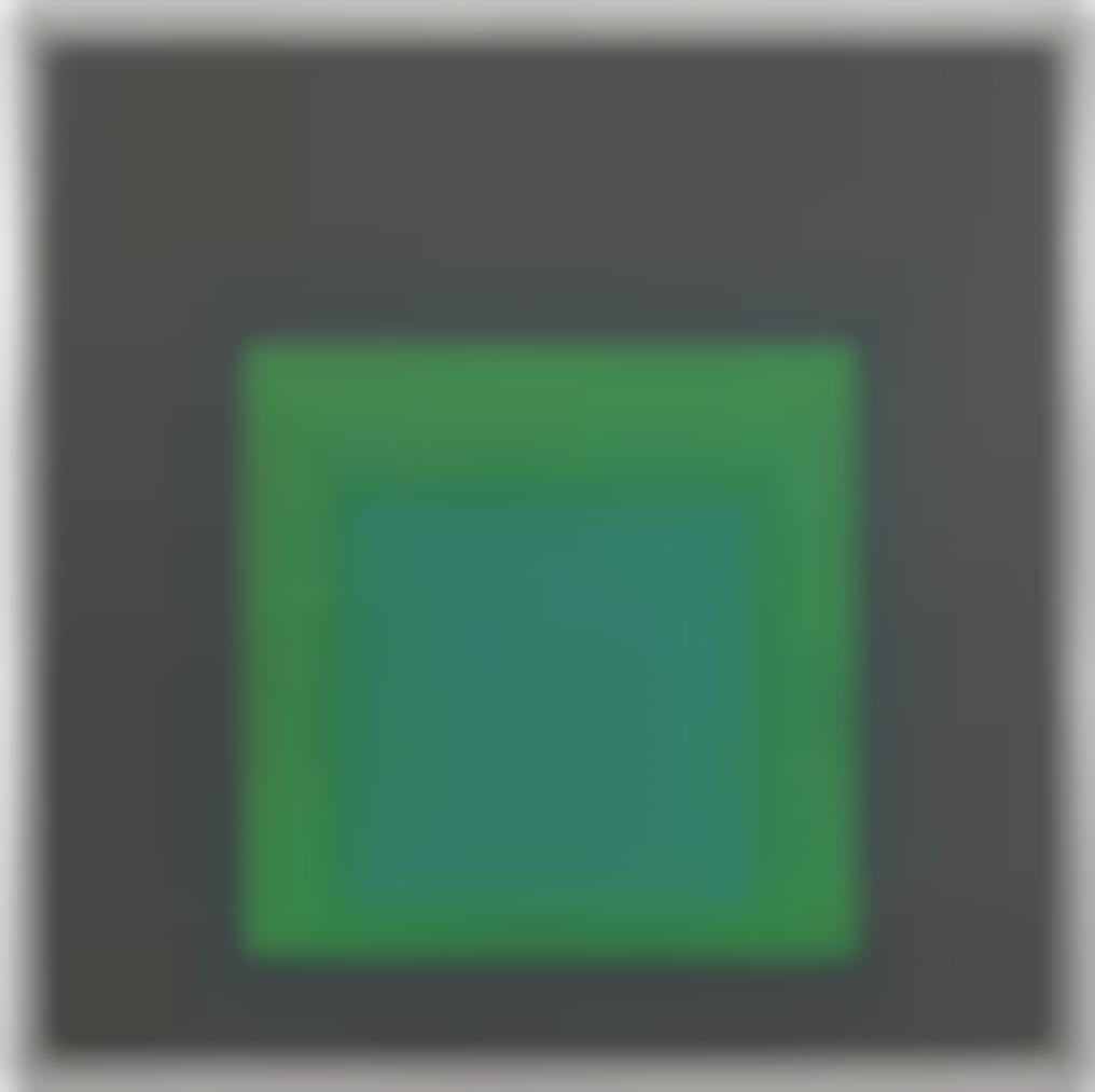 Josef Albers-Homage To The Square: Decided-1963
