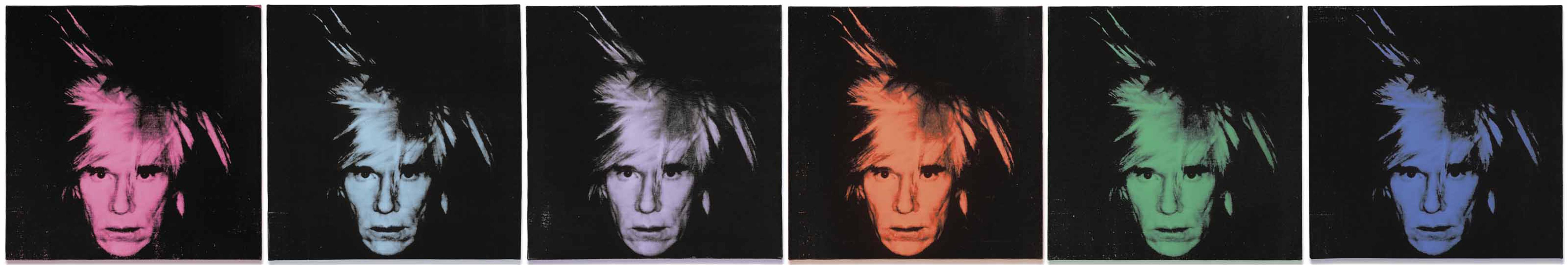 Andy Warhol-Six Self Portraits-1986