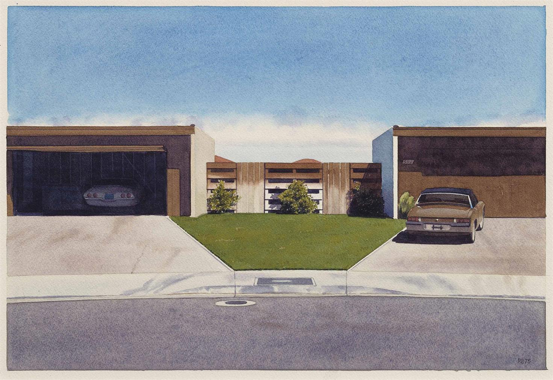 Robert Bechtle-Palm Springs Porsche-1975