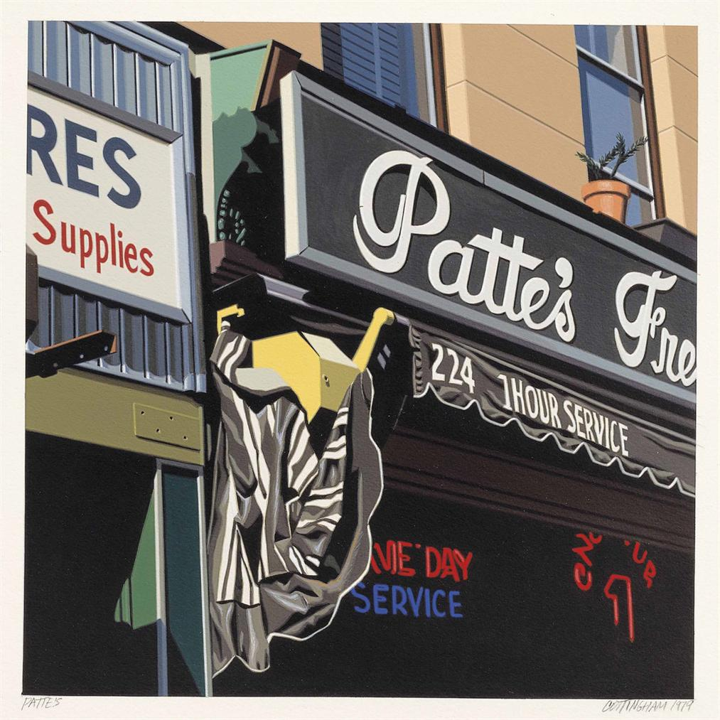 Robert Cottingham-Pattes-1979
