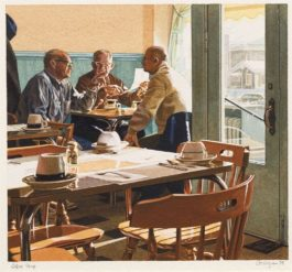 Ralph Goings-Coffee Shop-1978