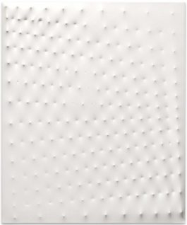 Enrico Castellani-Superficie Bianca (White Surface)-1981