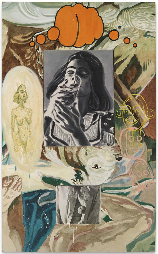 David Salle-Drink-1990