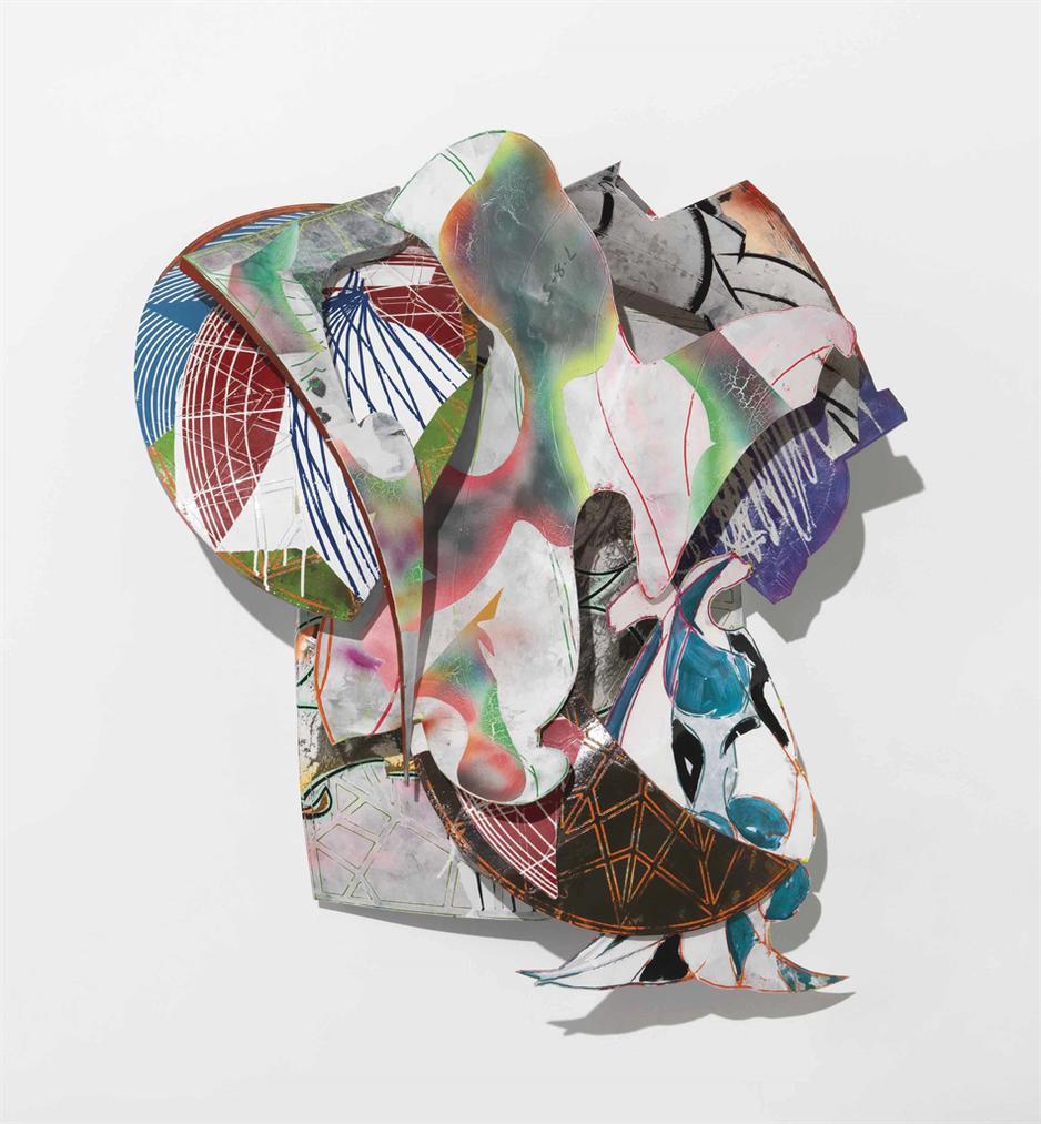 Frank Stella-The Chart (D-14, 1X)-1990