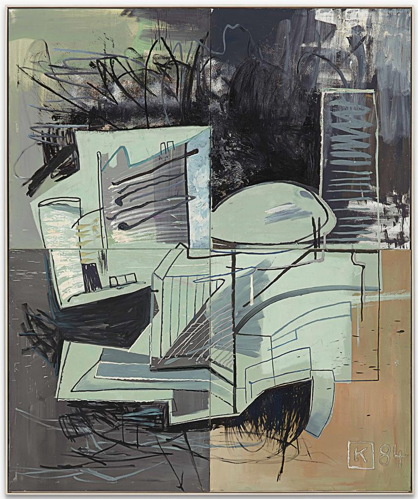 Martin Kippenberger-Uno-Gebaude - Haus Per La Pax (U.N. Building - The Home Of Peace)-1984