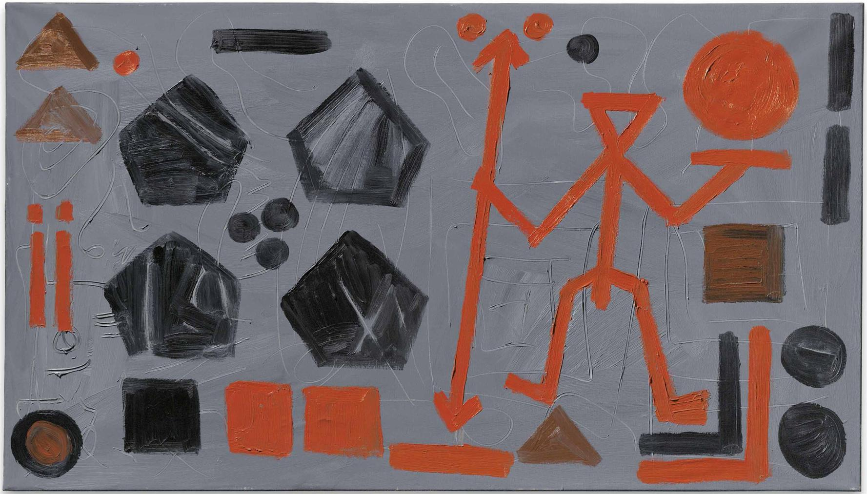 A.R. Penck-The Future Of The Soldier-1985