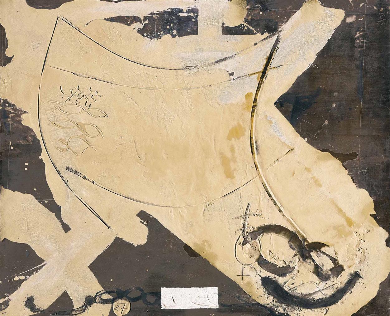 Antoni Tapies-Formas Curvas (Curved Forms)-1980