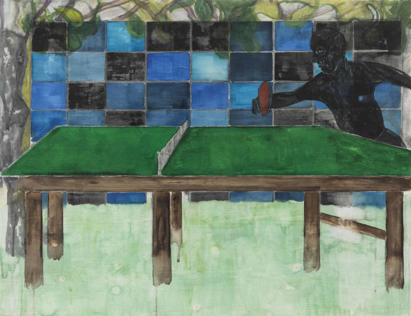 Peter Doig-Untitled, Ping Pong Player-2011
