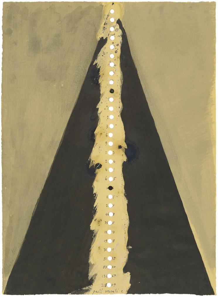 Mario Merz-Senza Titolo - Auf Dem Tisch-1974