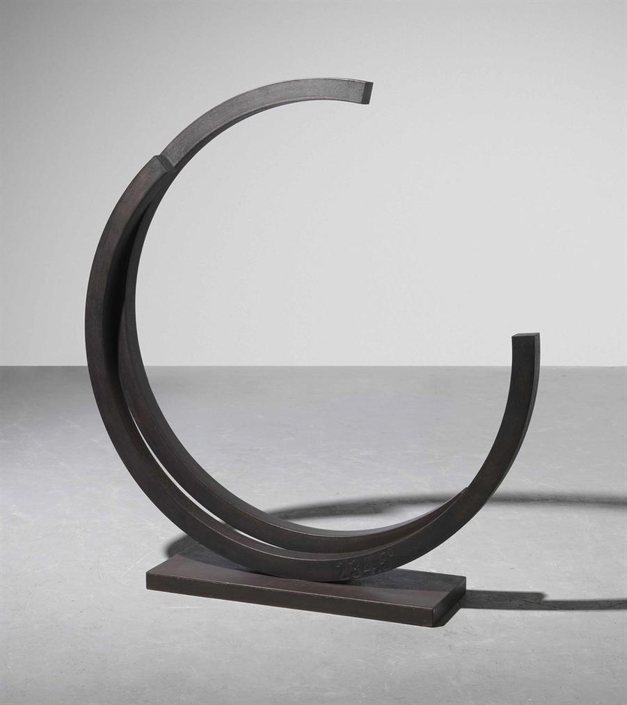 Bernar Venet-Deux Arcs De 234.5 (Two Arcs Of 234.5)-1985