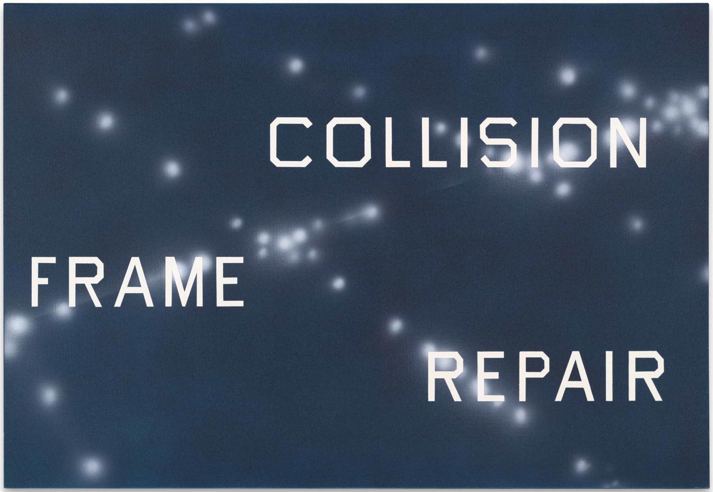 Ed Ruscha-Collision Frame Repair-2010