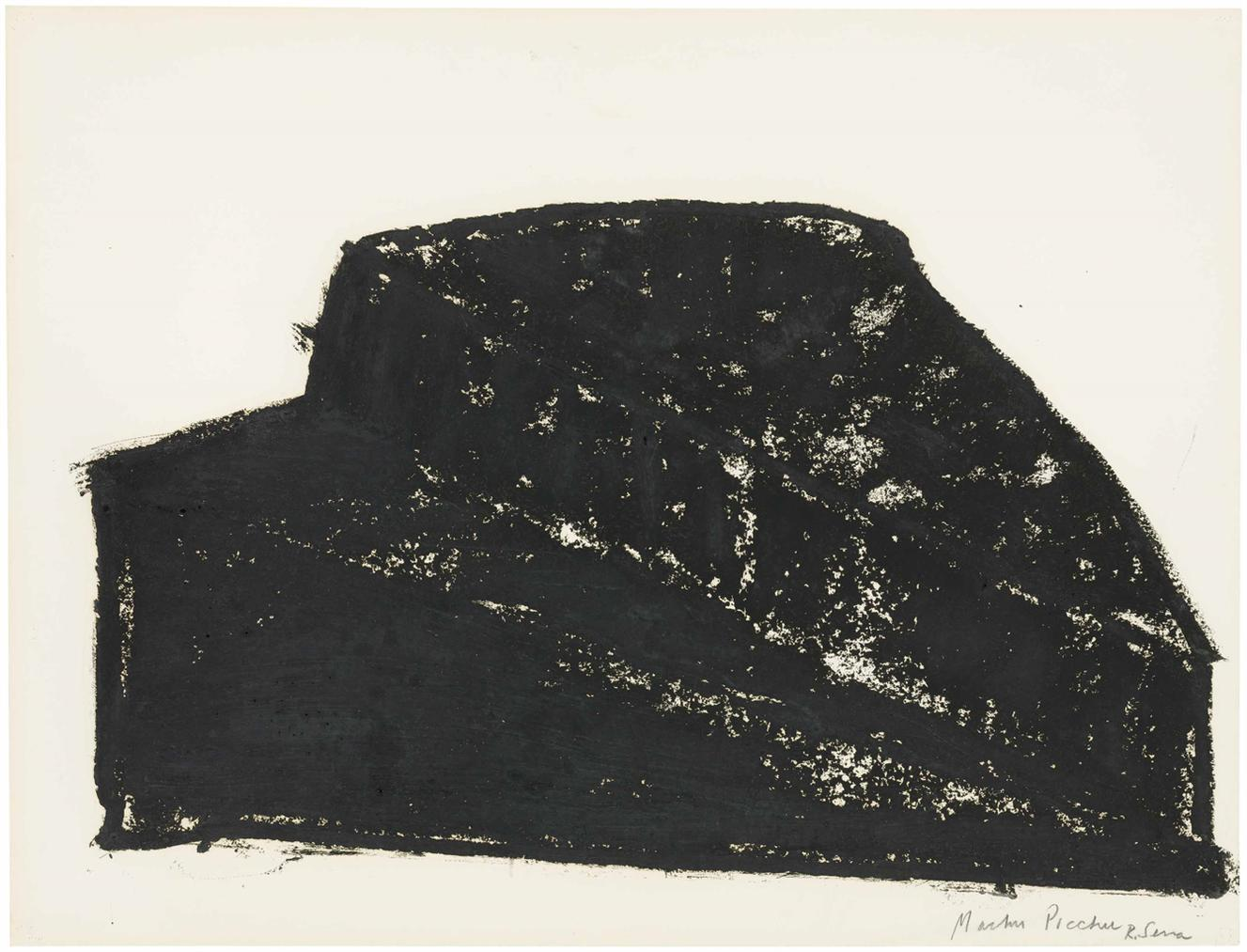 Richard Serra-Untitled-1980