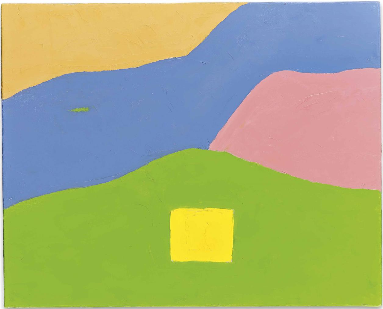 Etel Adnan-Untitled-2017