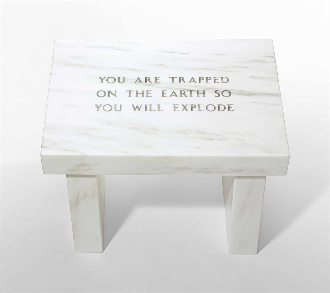 Jenny Holzer-Selection From Survival: You Are Trapped On The Earth...-2006