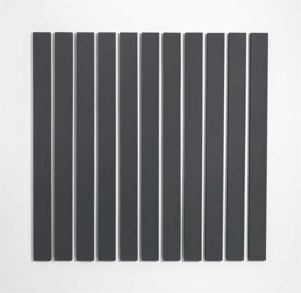 Alan Charlton-11 Vertical Parts-1996