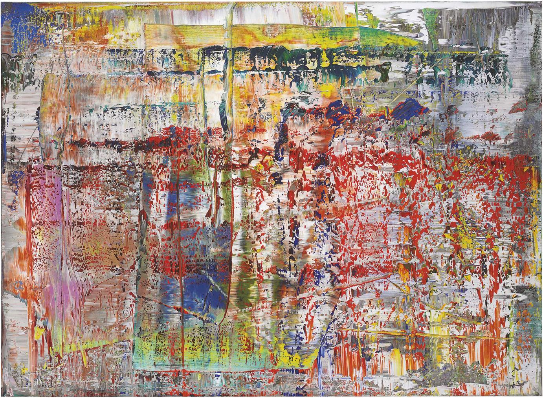 Gerhard Richter-Abstraktes Bild (P1)-2014