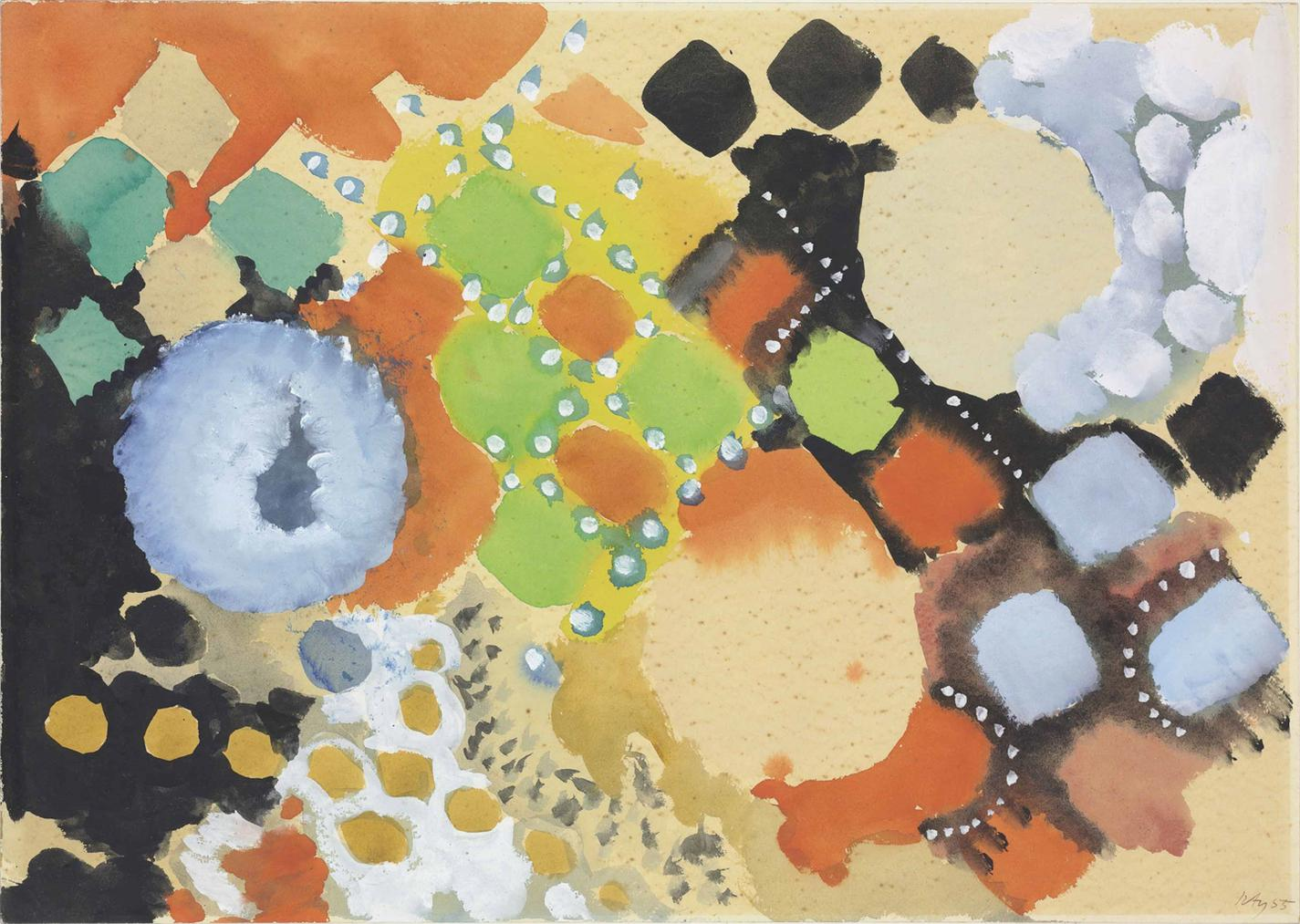 Ernst Wilhelm Nay-Untitled-1955