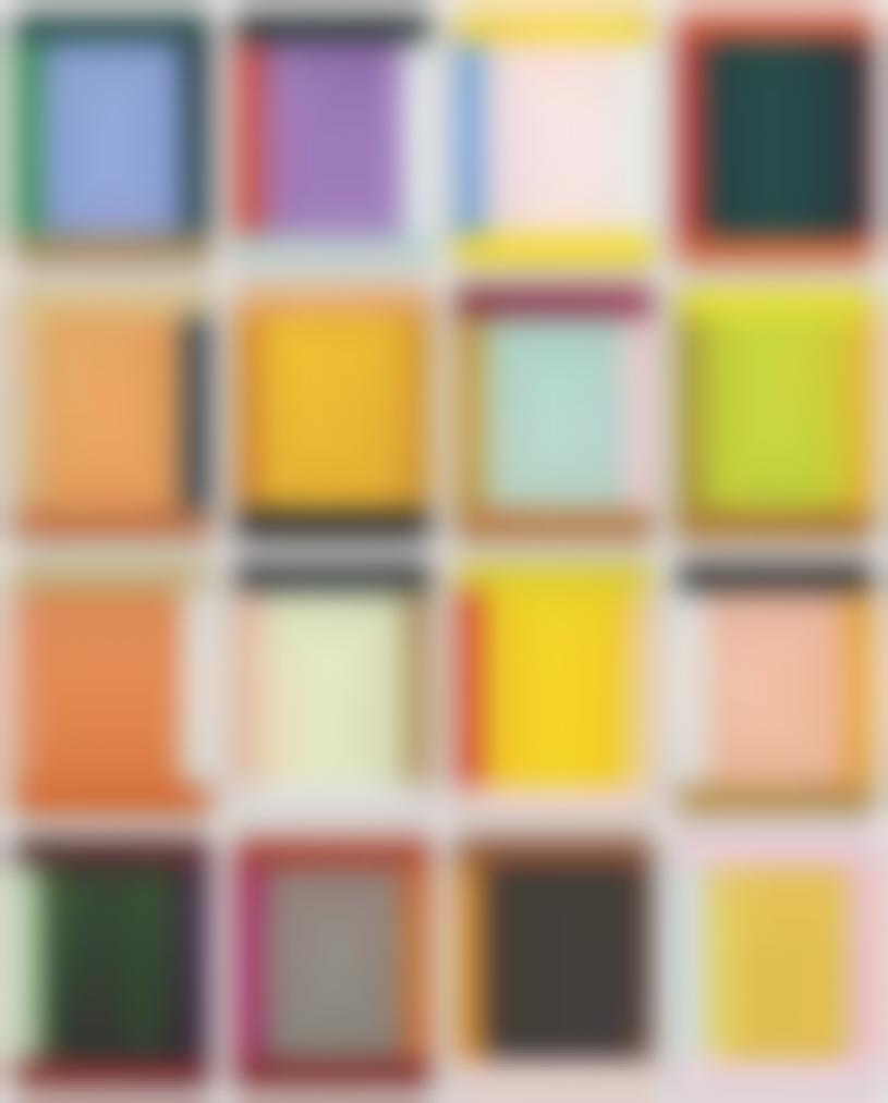 Imi Knoebel-(i) Anima Mundi 3-4, (ii) Anima Mundi 2014-6, (iii) Anima Mundi 2014-1, (iv) Anima Mundi 21-2 (v) Anima Mundi 2-5, (vi) Anima Mundi 28, (vii) Anima Mundi 26, (viii) Anima Mundi 23-2015