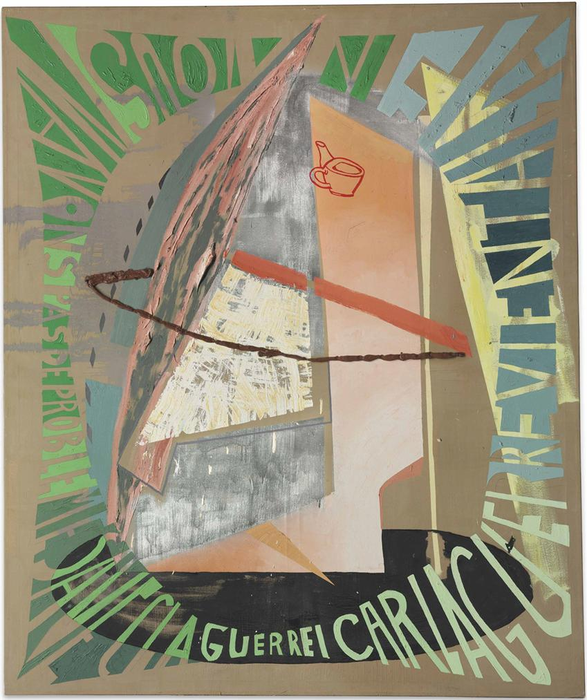 Martin Kippenberger-Nous Navons Pas De Probleme Avec La Guerre, Car La Guerre Vient A La Fin (We Have No Problems With War, Because War Comes At The End)-1986