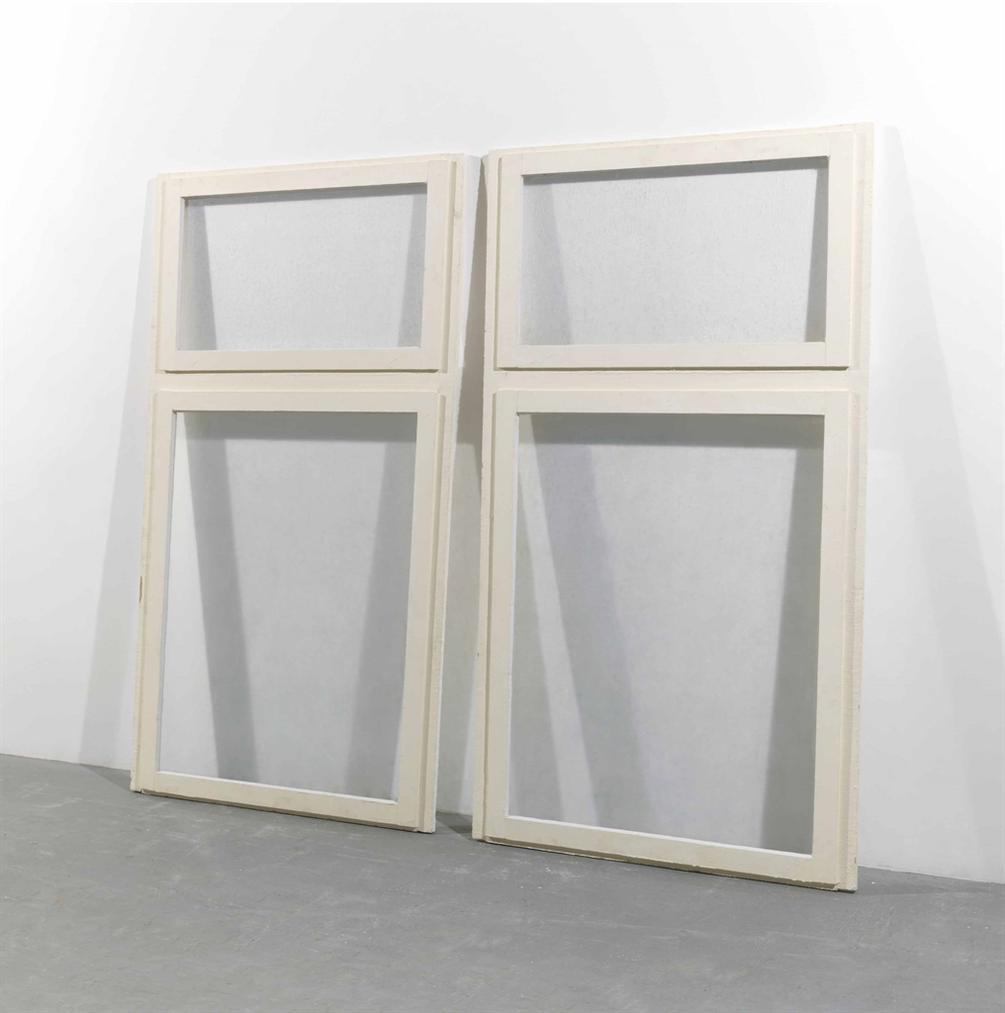 Gregor Schneider-(i)(ii) Fenster (Window)-1997