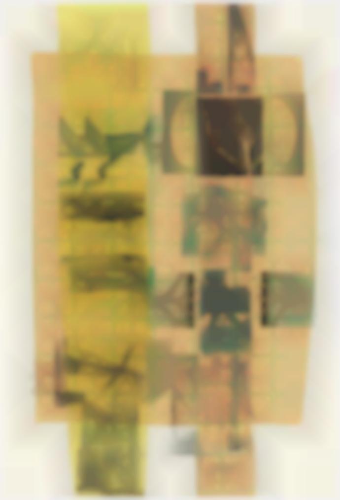 Robert Rauschenberg-Sherbet Tree (Slide)-1979
