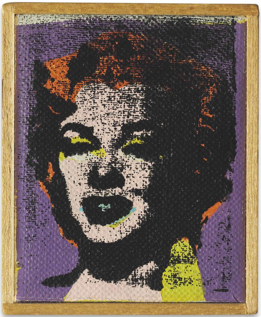 Richard Pettibone-Andy Warhol, Marilyn Monroe-1974